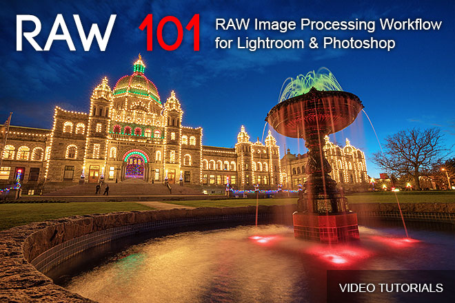 RAW Image Processing Workflow for Lightroom and Photoshop