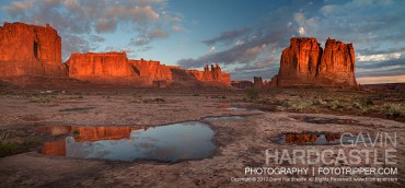 Arches National Park Photo Tips – Courthouse Towers