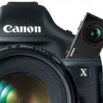 Canon 75 Megapixel DLSR rumours
