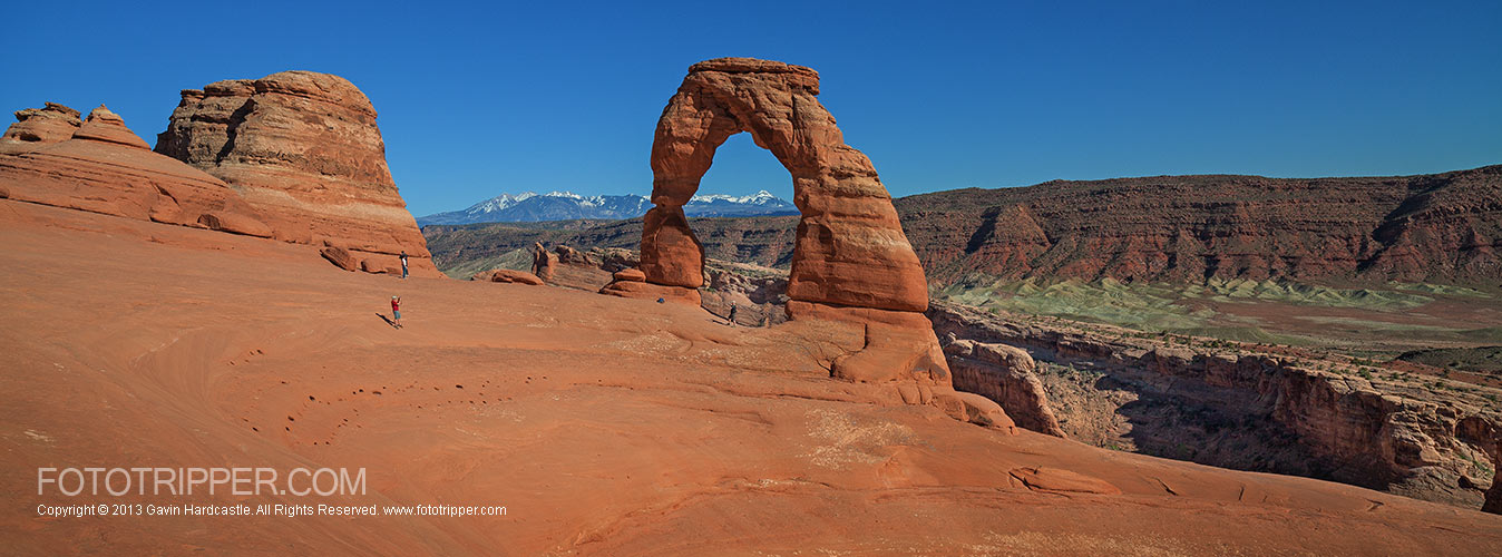 Delicate Arch Photo Tips-  Panorama