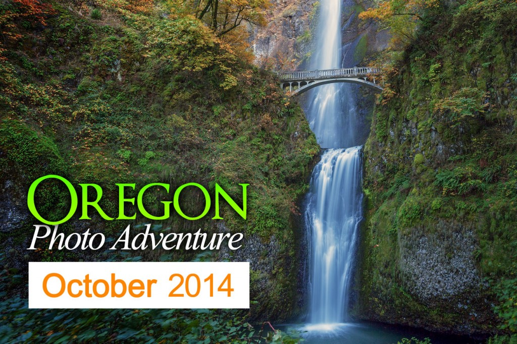 Oregon Photography Workshop - Multnomah Falls