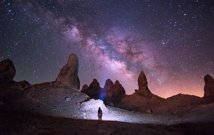 The Trona Pinnacles in California