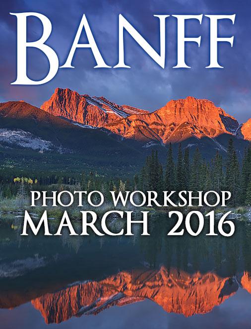 Banff Photography Workshop Photo Tours