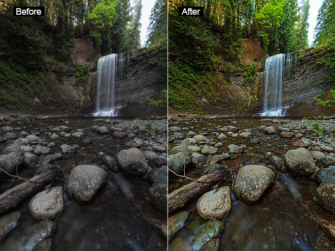 Adobe Photoshop Actions for Landscape Images