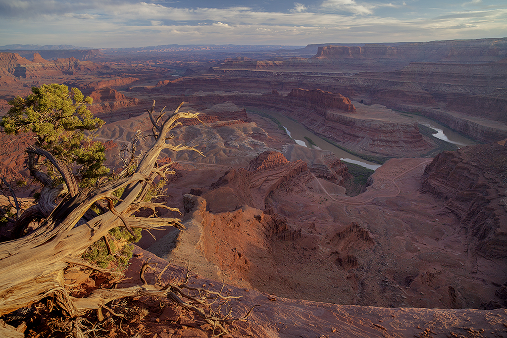 dead horse point state park focus stacked image