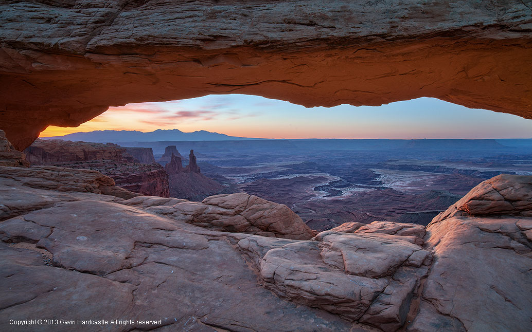 Zeiss 21mm Distagon f/2.38 Review - Mesa Arch Sunrise, Moab,Utah