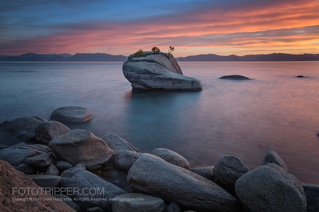 Lake Tahoe Photo Guide to Bonsai Rock