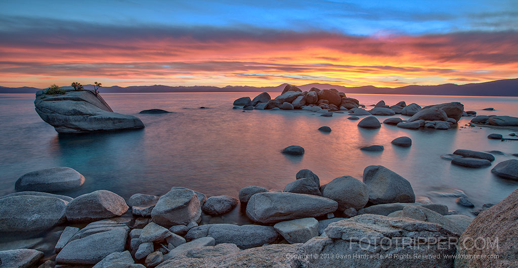 How to Photograph Bonsai Rock at Lake Tahoe