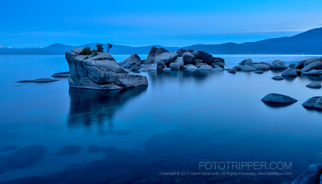 Sunrise Photographjy at Lake Tahoe