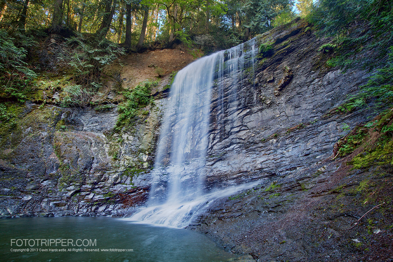 Ammonite Falls Photo Guide