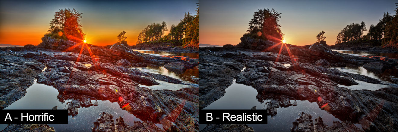 HDR Tutorial - Comparing Good with Bad