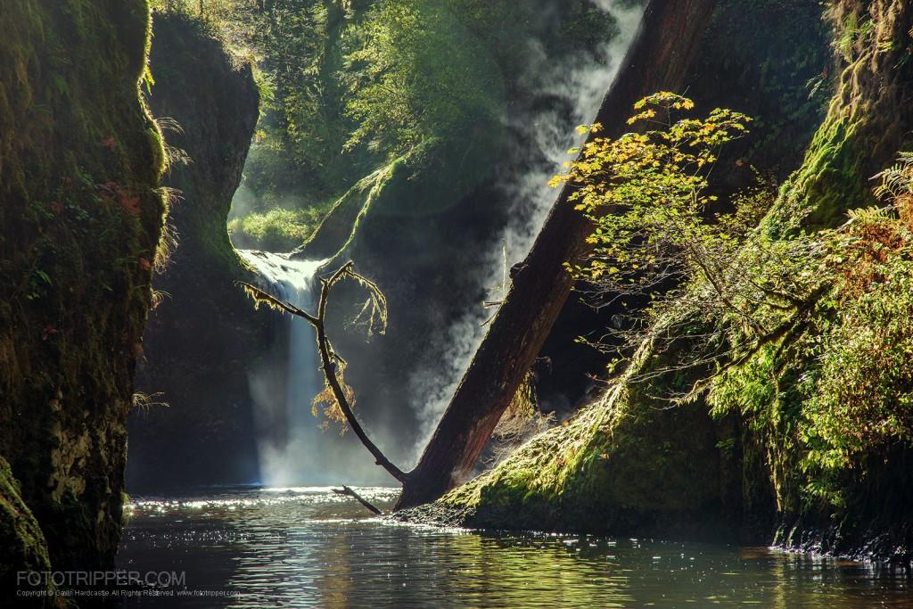 Punchbowl Falls - Oregon photography Workshop