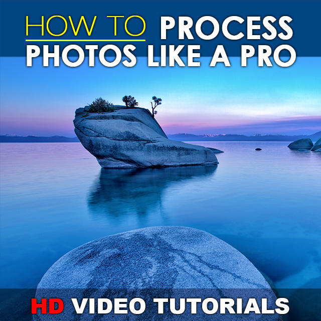 How to Process Photos Like a Pro - Lightroom Video Tutorials