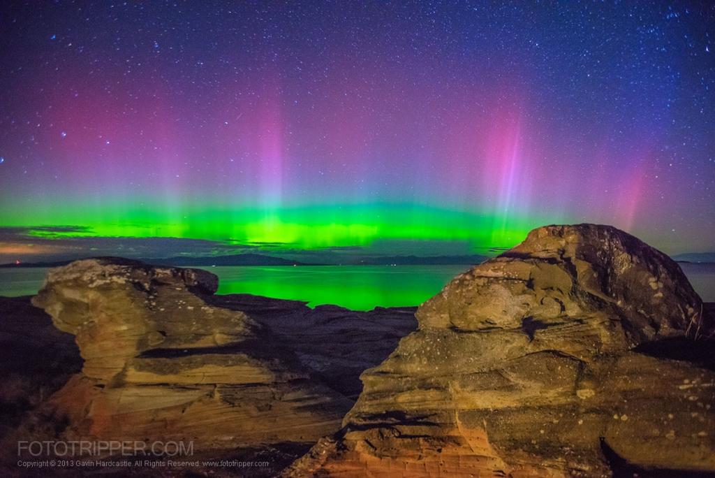 Aurora in Parksville