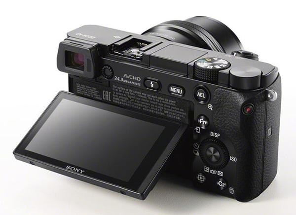 Sony A6000 tilt screen