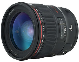 Canon 24mm 1.4 prime lens for star photography