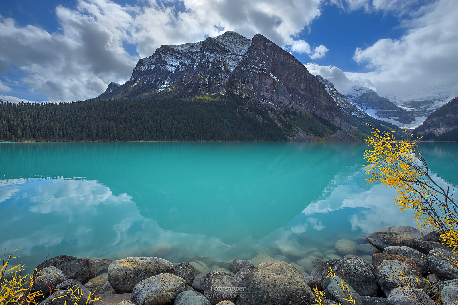 Lake Louise in Autumn with the Fototripper Banff Photography Workshop