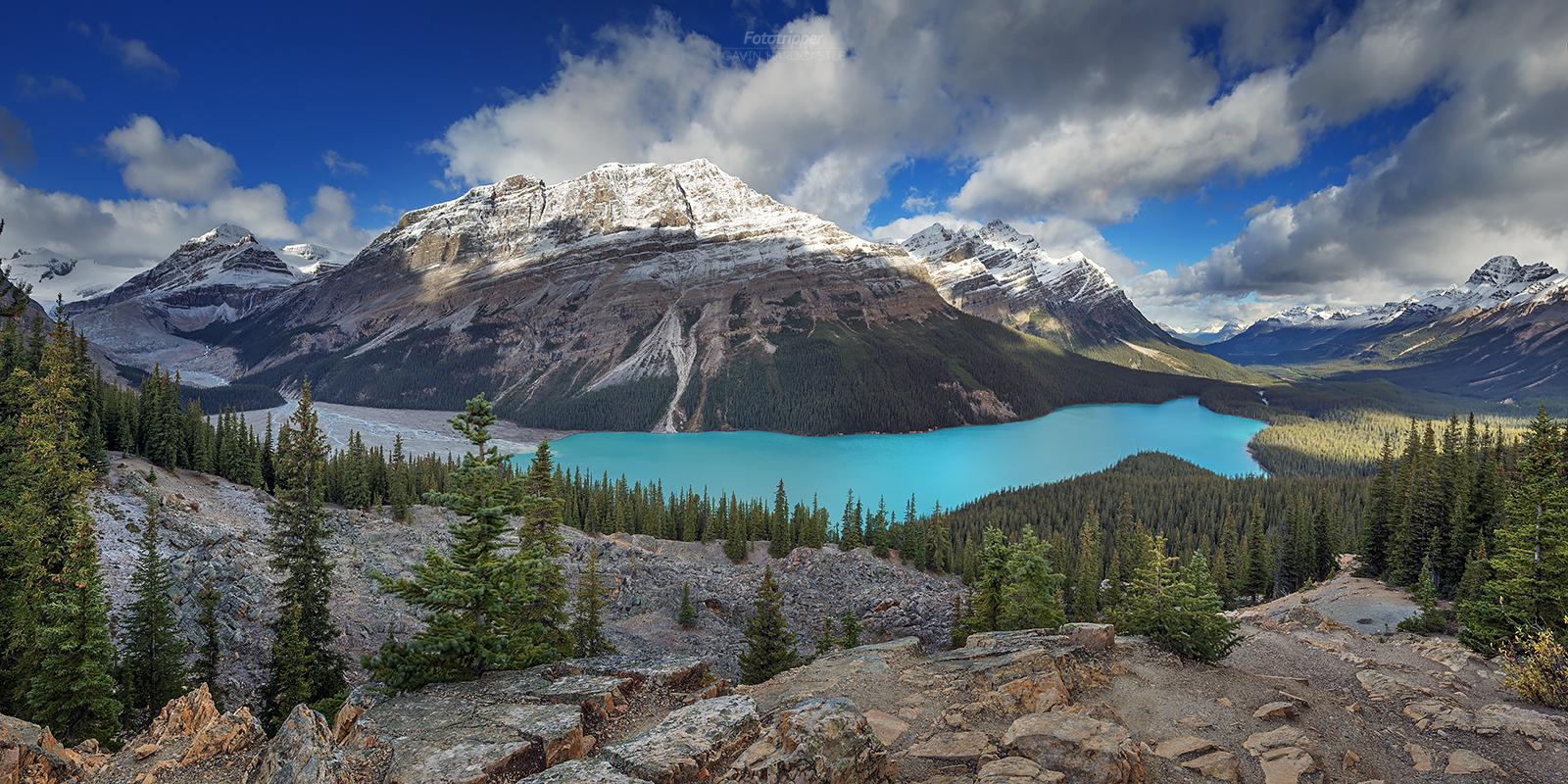 Peyto Lake Banff photo workshops in Septermber