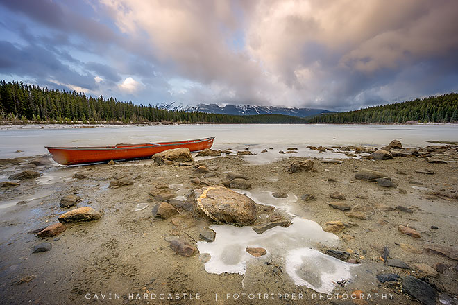 Patricia Lake in Jasper National Park, Alberta