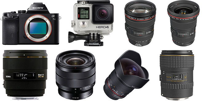 Gavin Hardcastle - Photography Gear List