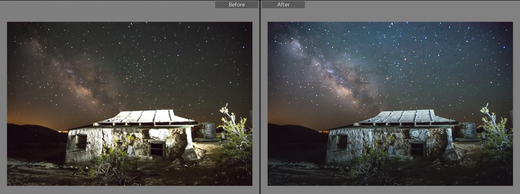 Gavins Milky Way Lightroom Presets - Blown Out Foreground Fixer