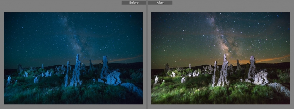 Lightroom Presets for Milky Way photography