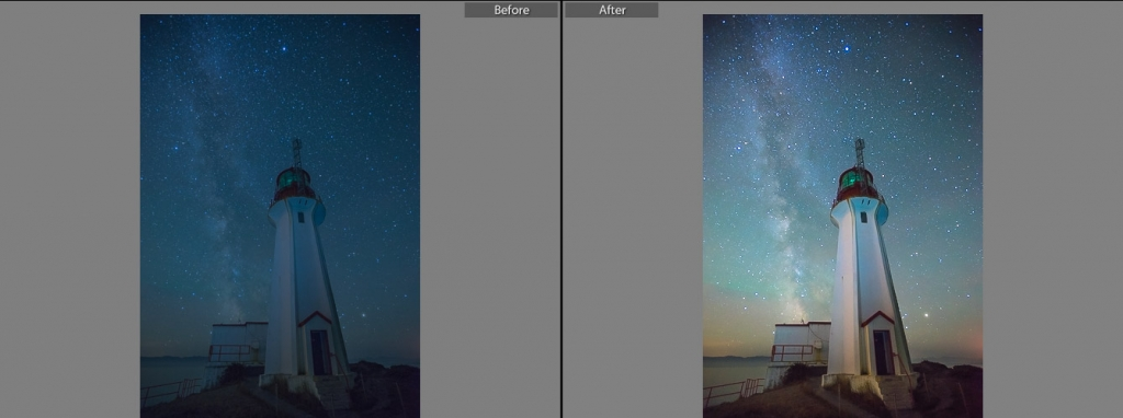 Natural Looking Lightroom Presets for Milky Way Photography