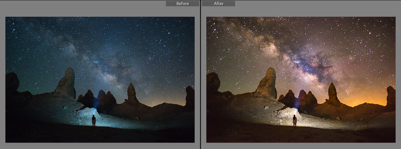 Gavins Milky Way Lightroom Presets - Fototripper