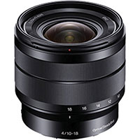 Sony 10-18mm f/4.0 lens