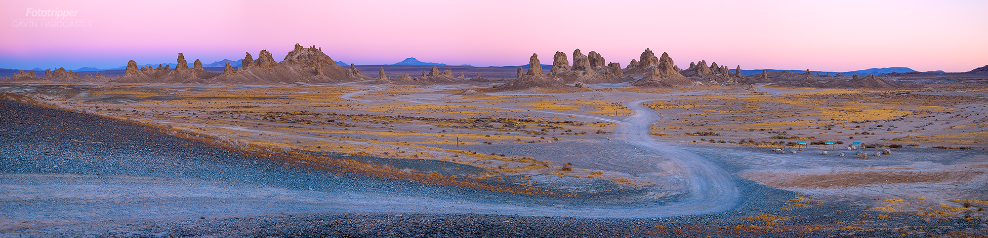 The Trona Pinnacles - Landscape Photography