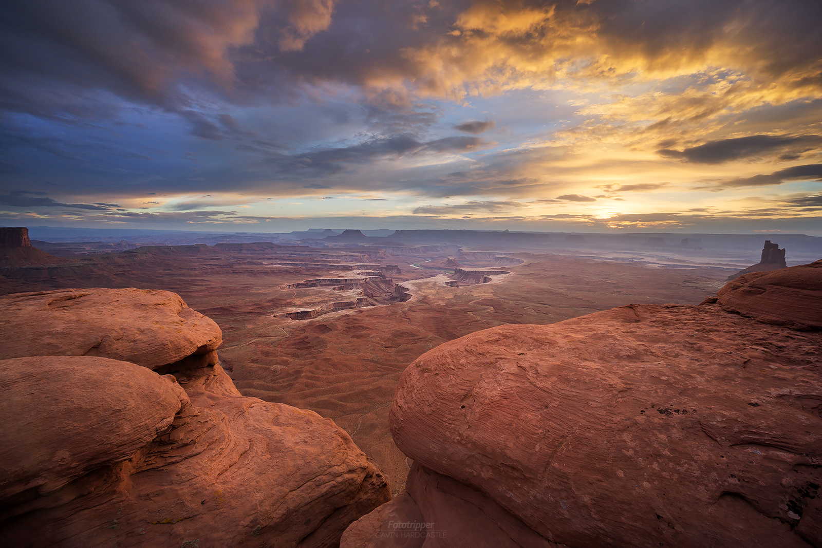 Canyonlands landscape photography with Gavin Hardcastle