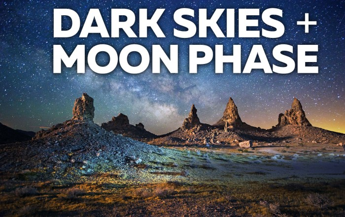 Astrophotography Tutorial - Dark Skies and Moon Phase