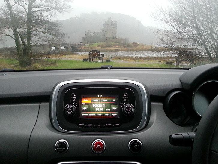 Eilean Donan Castle - Storm Henry