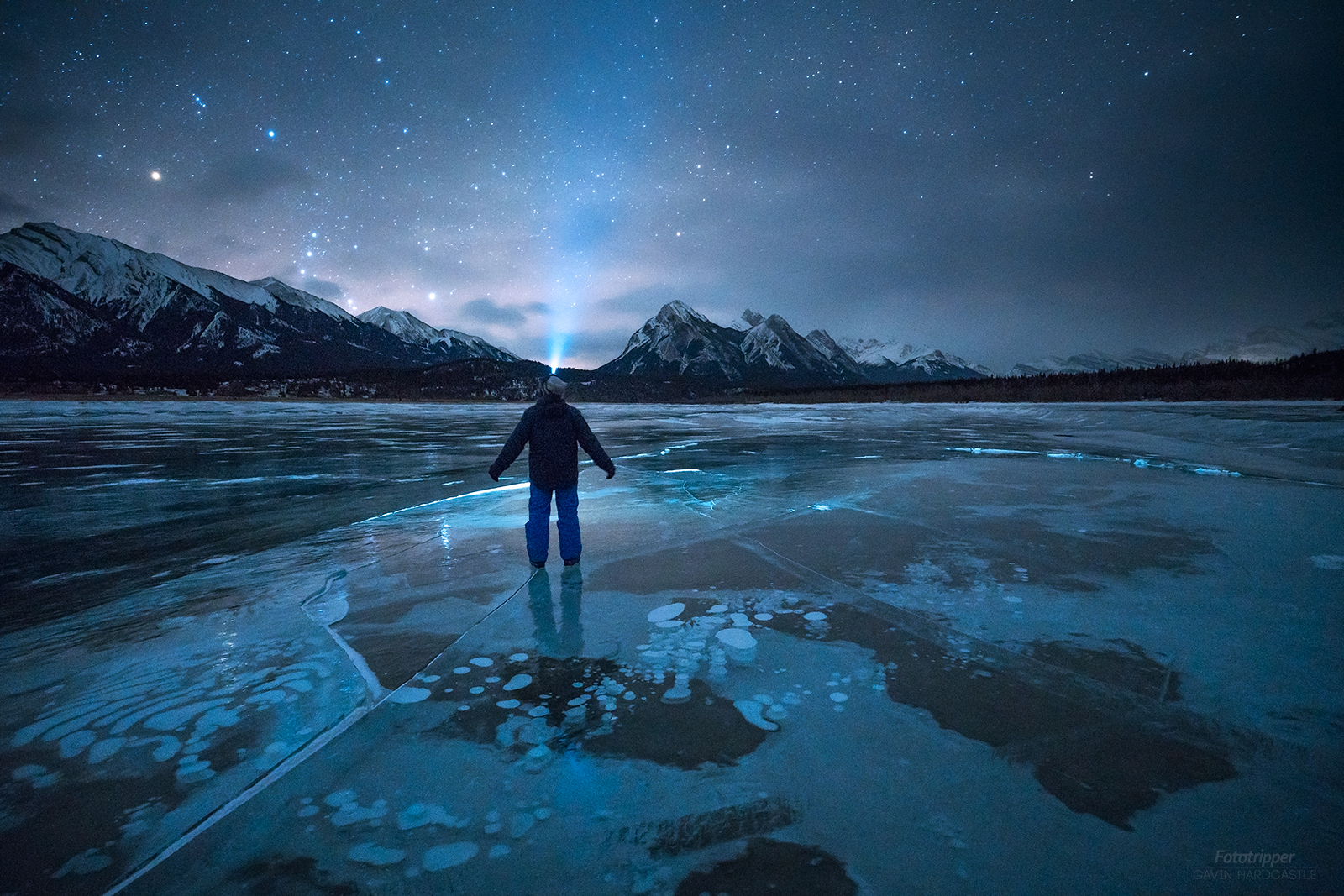 Abraham Lake Ice bubbles - Free Photography Tips