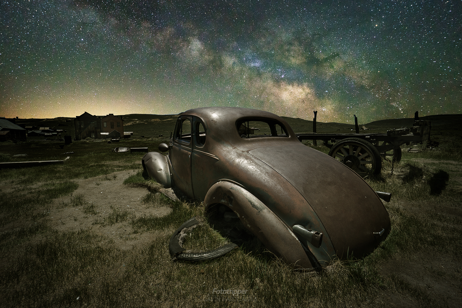 'Parked for Eternity' - Bodie Ghost Town