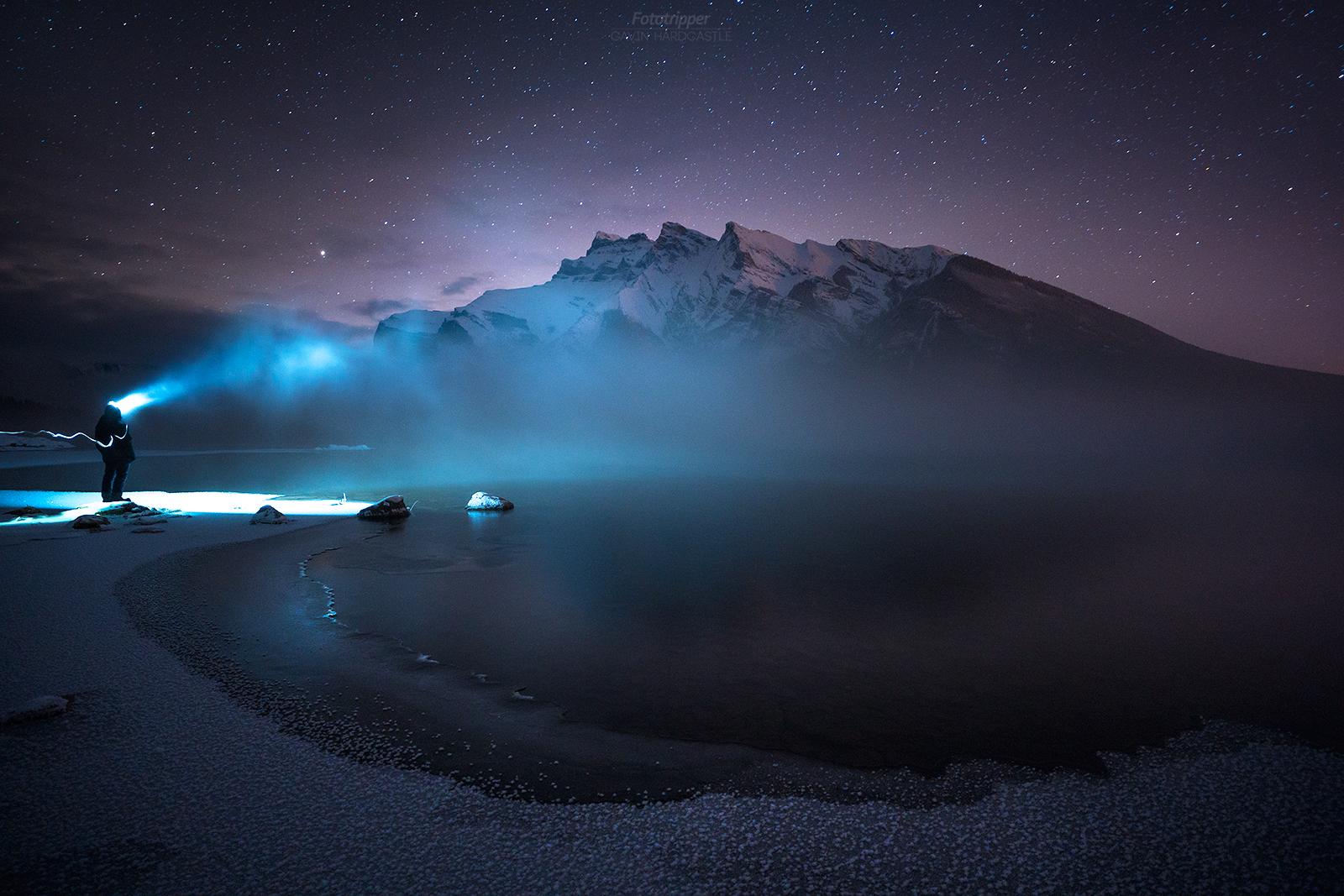 'The Abominable Ice Man' - Lake Minnewanka, Banff