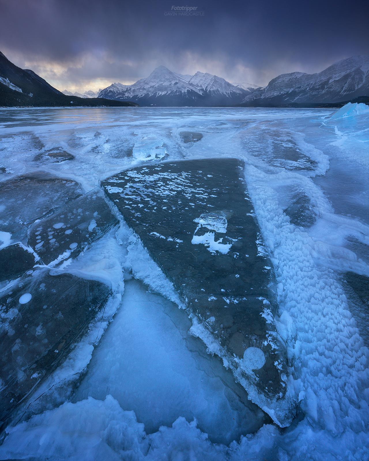 Elliot Peak at Abraham Lake - Free Photography Guide