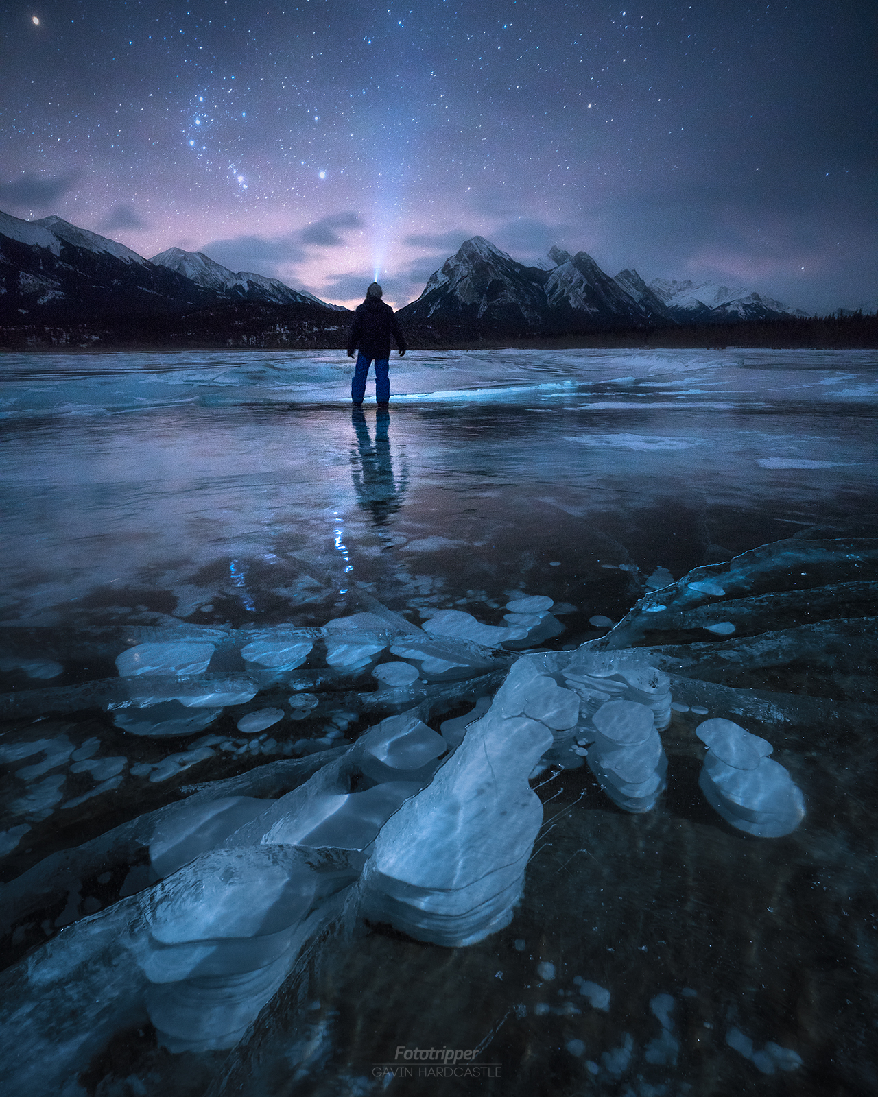 Abraham Lake Photography Tips - Ice Bubbles