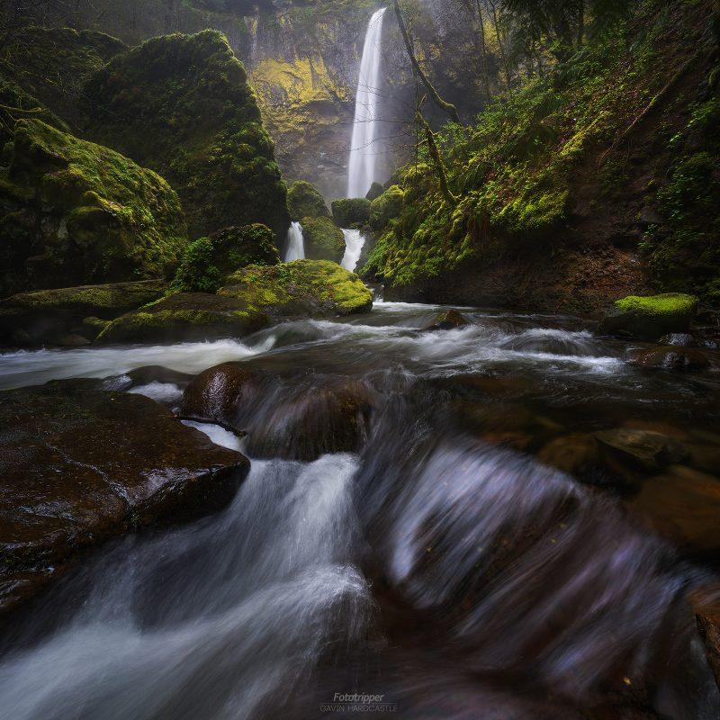 Elowah Falls - 'Teardrop Explodes' by Gavin Hardcastle
