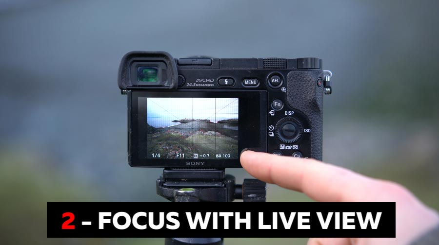 Focus Manually with Live View