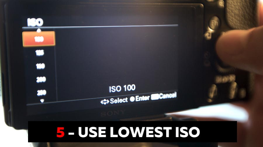Use Your Lowest ISO