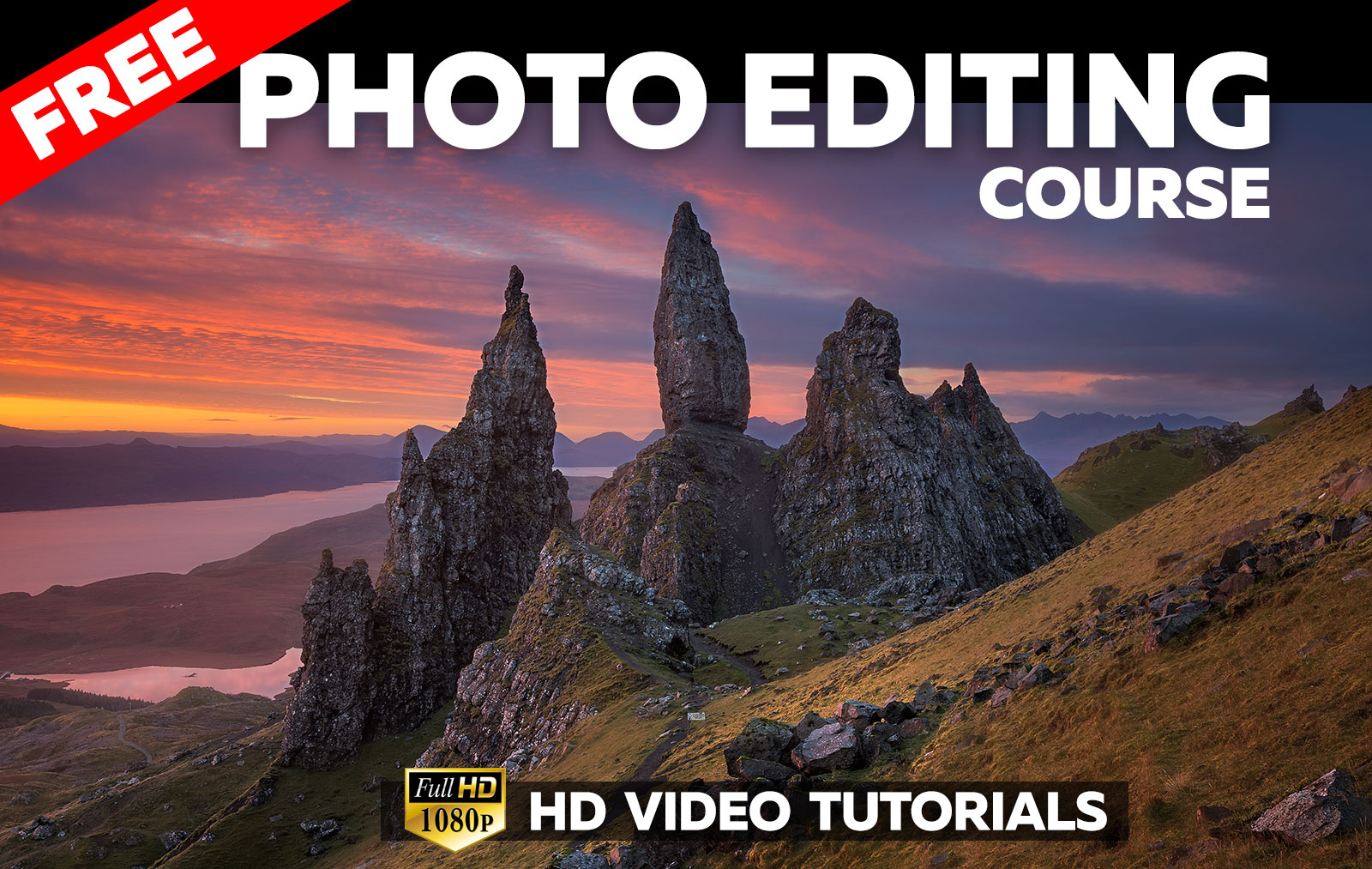 Free Photo Editing Course