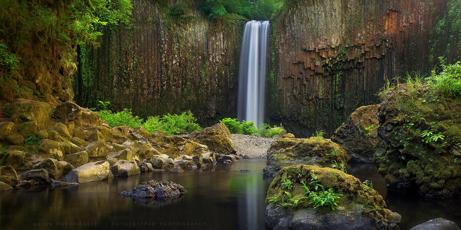 Abiqua Falls - High Resolution Fine Art Photography Prints