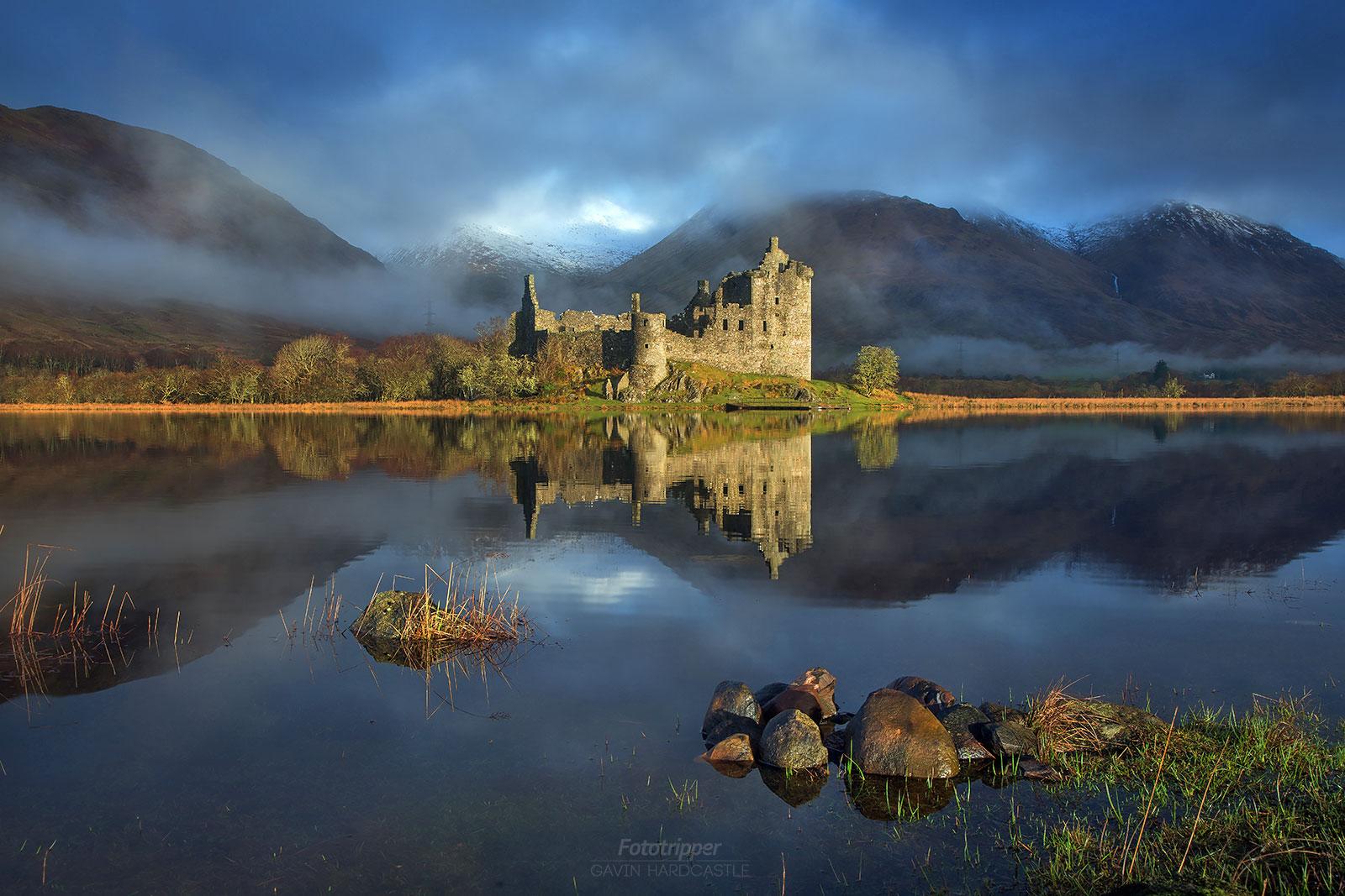 Kilchurn Castle, Loch Awe - Isle of Skye Photography Workshop