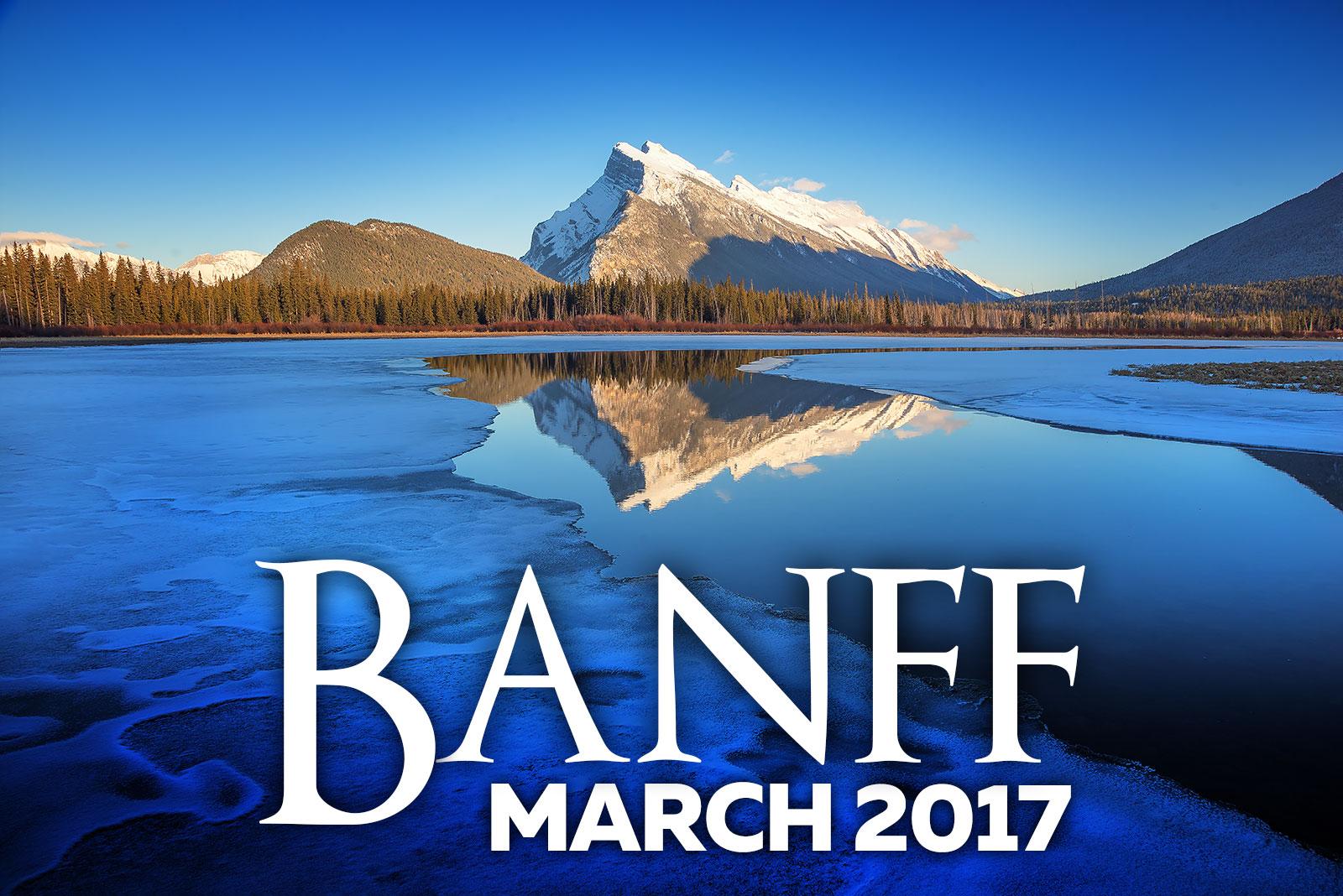 Banff Photography Workshops 2017