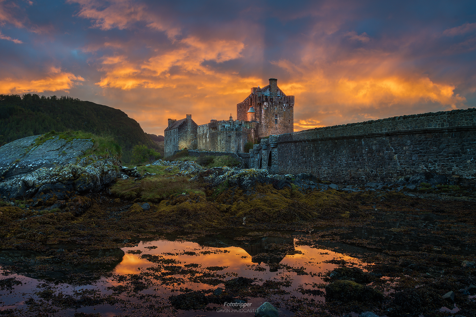 Eilean Donan Castle during the Isle of Skye Photography Workshop