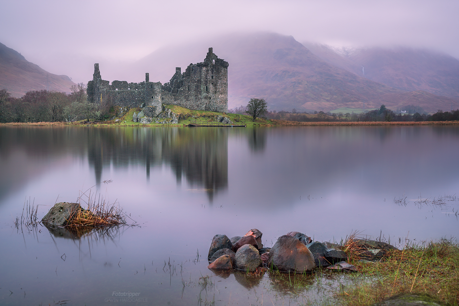 Kilchurn Castle, Loch Awe, Inverary during the Scotland Photography Workshop