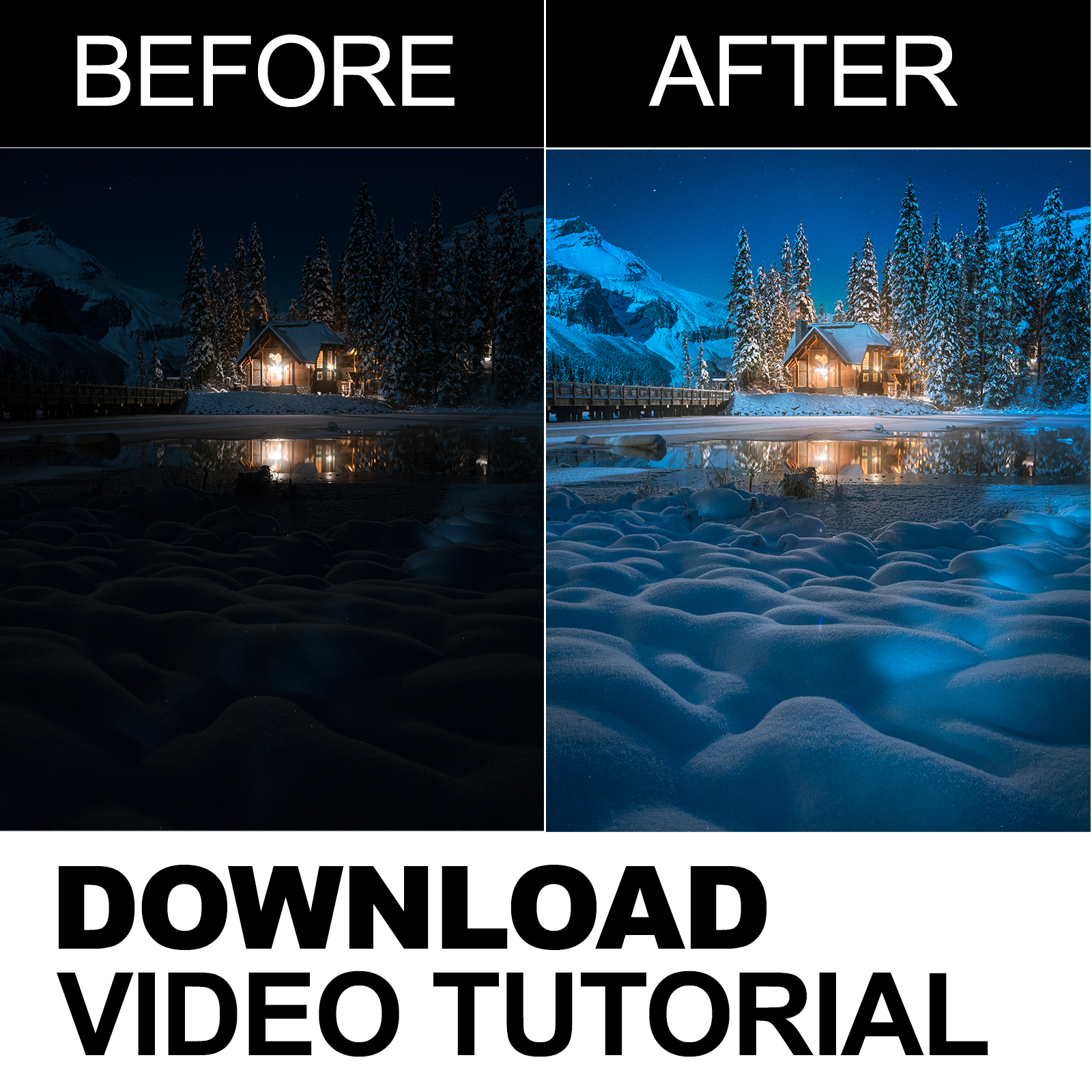 'Moonglow' - Photoshop Video Tutorial Download