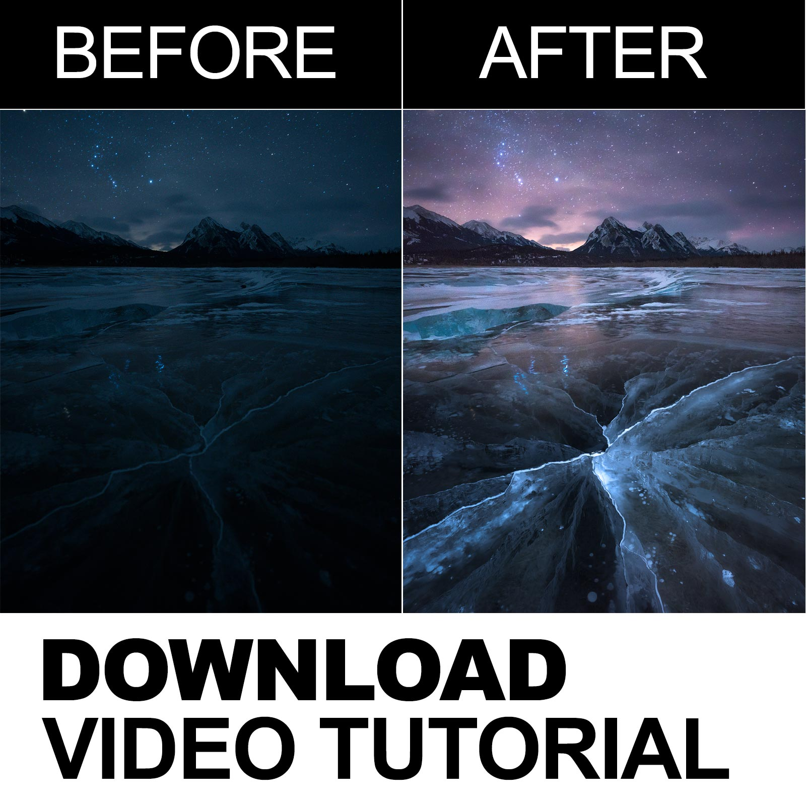 'Fracture' - Before and After. Photoshop Video Tutorial