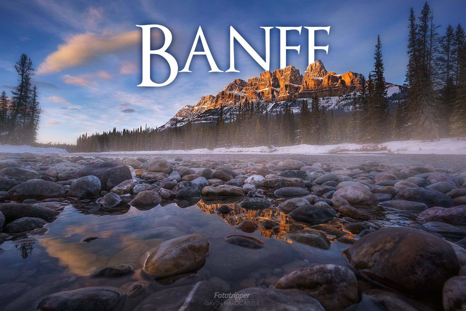 Banff Photography Workshop with Gavin Hardcastle